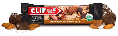 Clif Organic – Dark Chocolate Almond Sea Salt