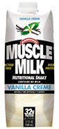 Muscle Milk Vallina Creme Carton